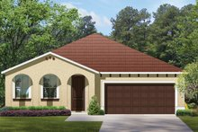 Architectural House Design - Mediterranean Exterior - Front Elevation Plan #1058-59