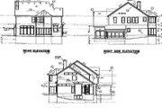 European Style House Plan - 4 Beds 3.5 Baths 2999 Sq/Ft Plan #67-562
