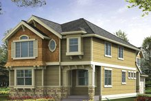 House Plan Design - Craftsman Exterior - Front Elevation Plan #132-385