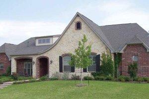 Dream House Plan - Tudor Exterior - Front Elevation Plan #84-716