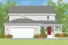 Home Plan - Victorian Exterior - Other Elevation Plan #72-1110