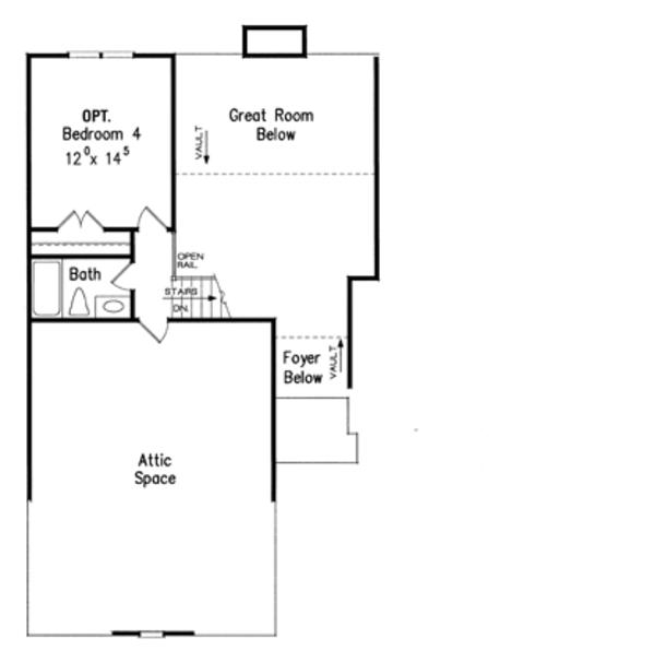 Country Floor Plan - Other Floor Plan Plan #927-585