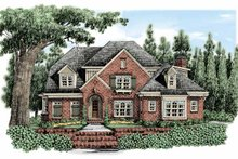House Plan Design - European Exterior - Front Elevation Plan #927-477