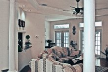 Country Interior - Family Room Plan #314-278