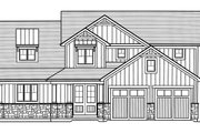 Craftsman Style House Plan - 4 Beds 2.5 Baths 2080 Sq/Ft Plan #46-891 Exterior - Front Elevation