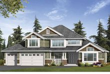 Craftsman Exterior - Front Elevation Plan #132-394