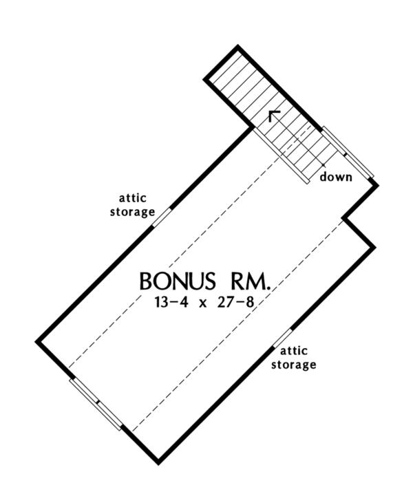 European Floor Plan - Other Floor Plan #929-950