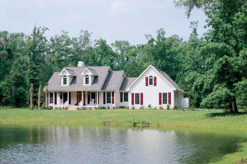Country Exterior - Front Elevation Plan #929-191 - Houseplans.com