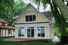House Plan Design - Bungalow Exterior - Rear Elevation Plan #928-191