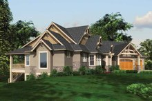 Architectural House Design - Craftsman Exterior - Other Elevation Plan #132-561