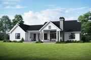 Farmhouse Style House Plan - 3 Beds 2.5 Baths 2523 Sq/Ft Plan #48-984 Exterior - Rear Elevation