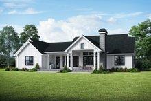 Farmhouse Exterior - Rear Elevation Plan #48-984