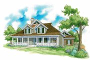 Victorian Style House Plan - 3 Beds 2.5 Baths 2169 Sq/Ft Plan #930-224 Exterior - Front Elevation
