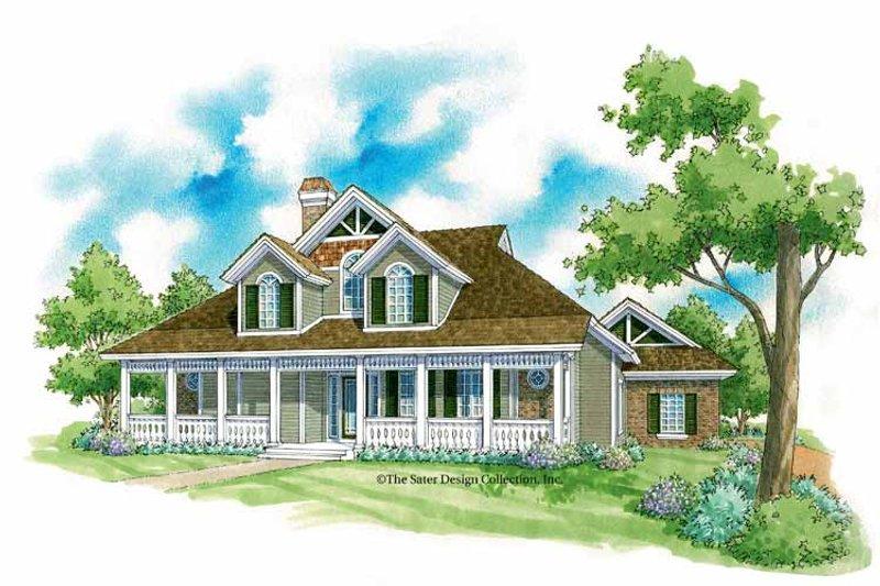 House Plan Design - Victorian Exterior - Front Elevation Plan #930-224