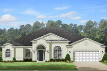 House Plan Design - European Exterior - Front Elevation Plan #1058-130