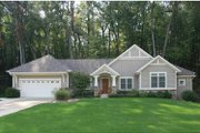 Craftsman Style House Plan - 2 Beds 2.5 Baths 1376 Sq/Ft Plan #928-150 Exterior - Front Elevation
