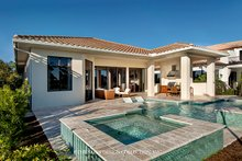 Dream House Plan - Mediterranean Exterior - Rear Elevation Plan #930-458