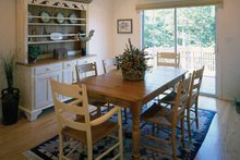 Country Interior - Dining Room Plan #314-201