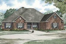 House Plan Design - Contemporary Exterior - Front Elevation Plan #17-2765