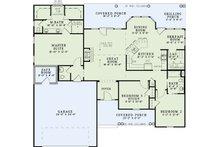 Country Floor Plan - Main Floor Plan Plan #17-2550