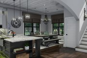 Farmhouse Style House Plan - 3 Beds 2.5 Baths 2214 Sq/Ft Plan #120-261 Interior - Dining Room