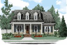 Colonial Exterior - Front Elevation Plan #927-512