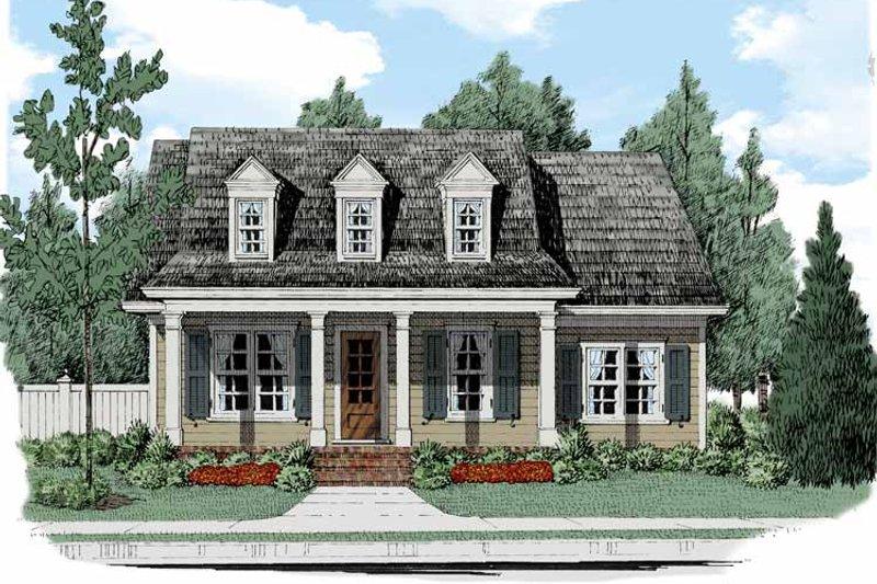 Colonial Exterior - Front Elevation Plan #927-512 - Houseplans.com