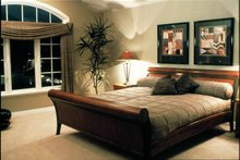 Architectural House Design - Mediterranean Interior - Master Bedroom Plan #47-895