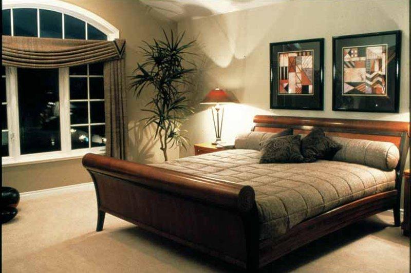 Mediterranean Interior - Master Bedroom Plan #47-895 - Houseplans.com