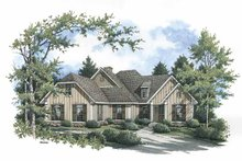 Home Plan - Country Exterior - Front Elevation Plan #45-422