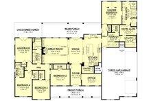 Farmhouse Floor Plan - Main Floor Plan Plan #430-222