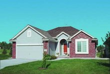 Dream House Plan - Traditional Exterior - Front Elevation Plan #20-391