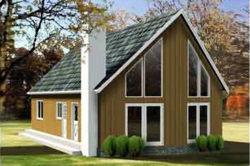 Home Plan - Contemporary Exterior - Front Elevation Plan #1-1192