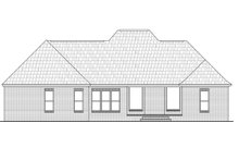 Dream House Plan - Country Exterior - Rear Elevation Plan #21-360