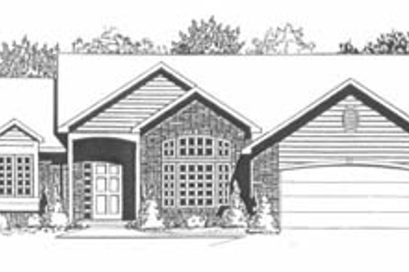 Traditional Exterior - Front Elevation Plan #58-151