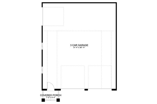 Dream House Plan - Traditional Floor Plan - Main Floor Plan #1060-87