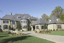 Architectural House Design - European Exterior - Front Elevation Plan #453-596