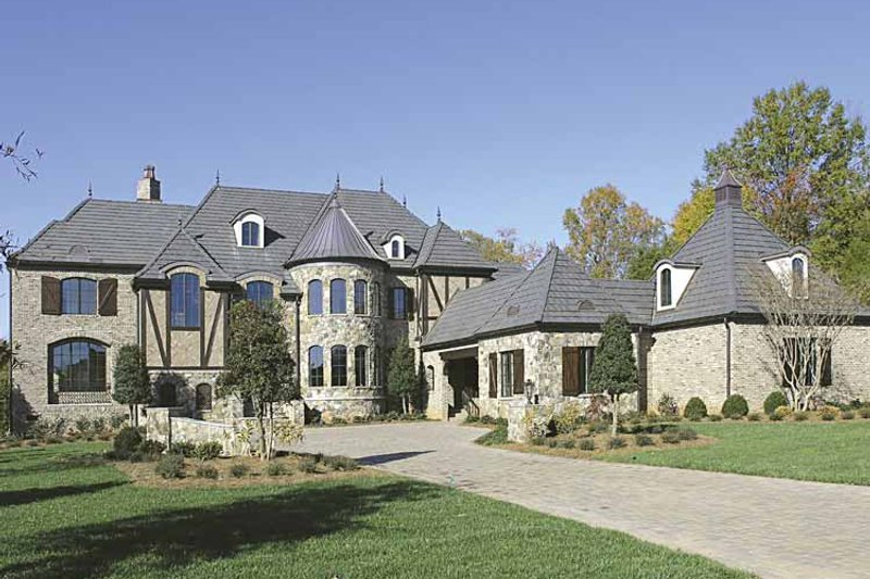 Dream House Plan - European Exterior - Front Elevation Plan #453-596