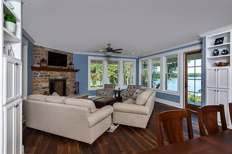 Country Interior - Family Room Plan #928-290 - Houseplans.com