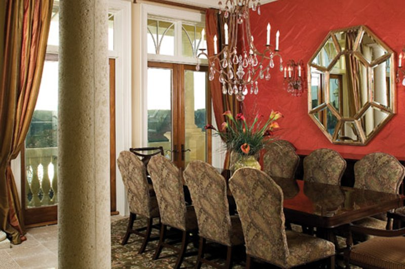 Mediterranean Interior - Dining Room Plan #929-900 - Houseplans.com