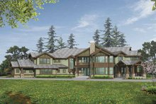 Dream House Plan - Craftsman Exterior - Front Elevation Plan #132-520
