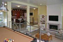 House Plan Design - Lower Level Family Room