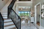 Mediterranean Style House Plan - 3 Beds 3 Baths 3648 Sq/Ft Plan #930-449 Interior - Entry