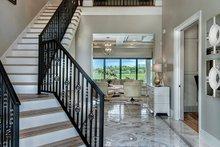 Dream House Plan - Mediterranean Interior - Entry Plan #930-449