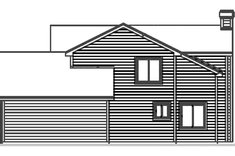 Country Exterior - Other Elevation Plan #300-139 - Houseplans.com