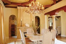Mediterranean Interior - Dining Room Plan #1058-11