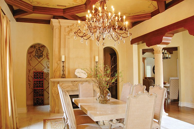 Mediterranean Interior - Dining Room Plan #1058-11 - Houseplans.com