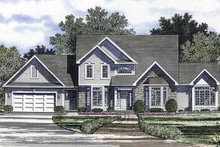 Dream House Plan - Traditional Exterior - Front Elevation Plan #316-225