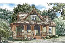 Country Exterior - Front Elevation Plan #17-3345