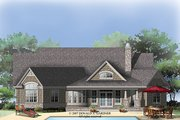 Traditional Style House Plan - 3 Beds 2 Baths 2142 Sq/Ft Plan #929-911 Exterior - Rear Elevation